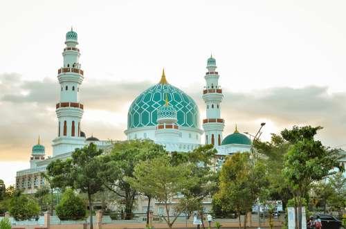 Mosque Building Muslim Islam Religion Travel