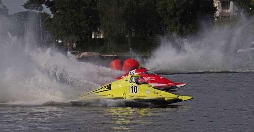 Motor Racing Boat Water Sports Racing