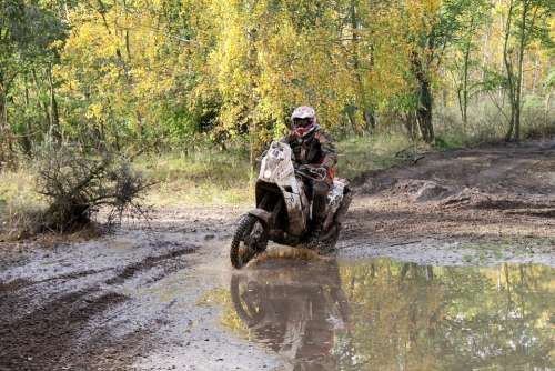 Motorcycle Enduro Rally Sand Motocross Motorsport