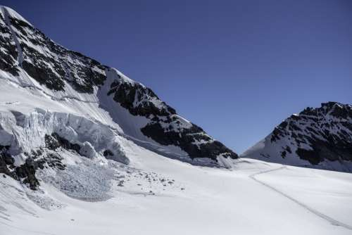 Mountain Switzerland Landscape Snow Jungfrau