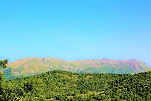 Mountain Landscape Nature Sky Taylor Open