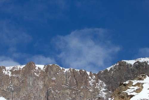 Mountain Top Nature Mountains Elbrus Region