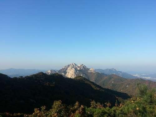 Mountain Sky Rock