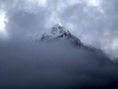 Mountain Fog Landscape Sea Of Fog Clouds Mood