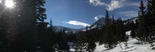 Mountain Pass Vista Scenery Pass Mountain Alpine