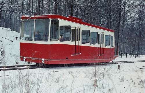 Mountain Railway Rack Railway Winter Rail Traffic