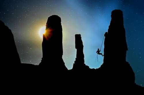 Mountaineer Climb Climbing Sport Mountaineering