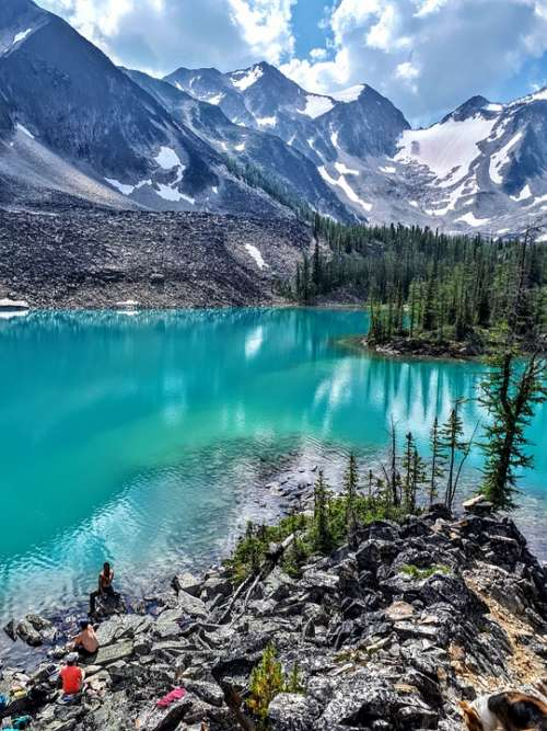 Mountains Water Lake Nature Landscape Scenic