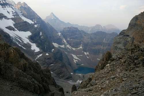 Mountains Lake Nature Landscape Alpine
