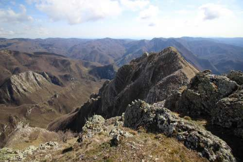Mountains Appennino Landscape Italy Nature Toscana