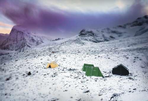 Mountains Mountaineering Tents Stock Basecamp