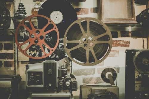Movie Reel Projector Film Cinema Entertainment