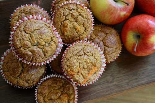 Muffin Cupcakes Homemade Pastry Food Bakery Snack
