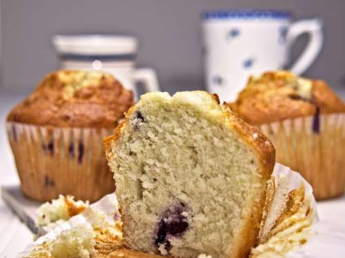 Muffin Coffee Food Cupcake Delicious Sweet