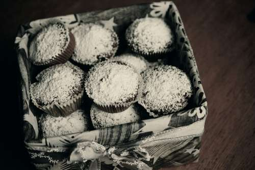 Muffins Schokomuffins Pastries Cupcake Bake