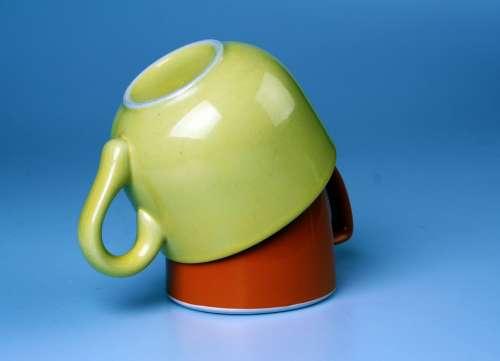 Mugs Yellow Orange