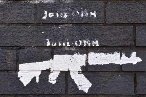 Mural Gun Violence Belfast Northern Ireland