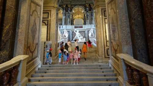 Museum Vienna Staircase Art