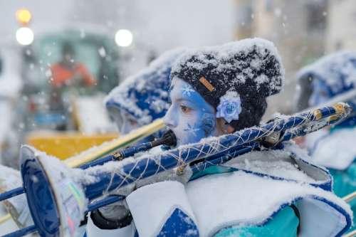Music Switzerland Snow Carnival Canton Of Glarus