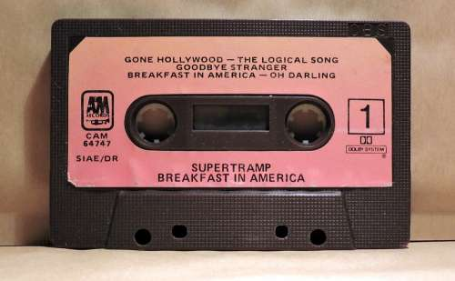 Musicassette Audio Cassette Vintage Tape