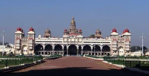 Mysore Palace Architecture Landmark Structure