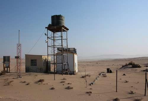 Namibia Desert Restricted Area