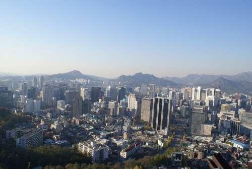 Namsan Seoul Republic Of Korea Korea