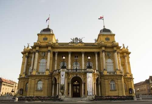 National Theater Zagreb Theater Croatia Building