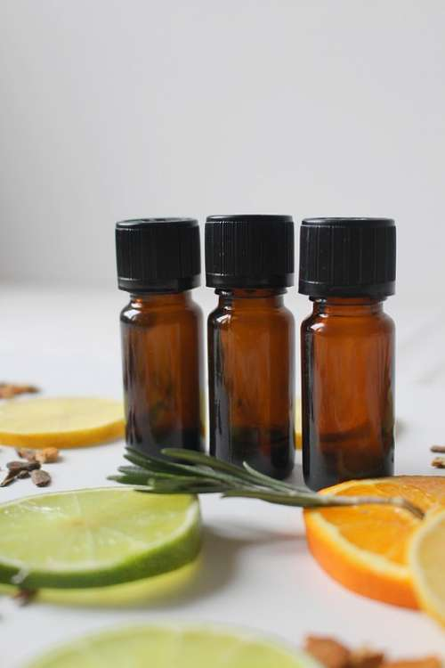 Natural Cosmetics Fragrance Lemon Orange Lime