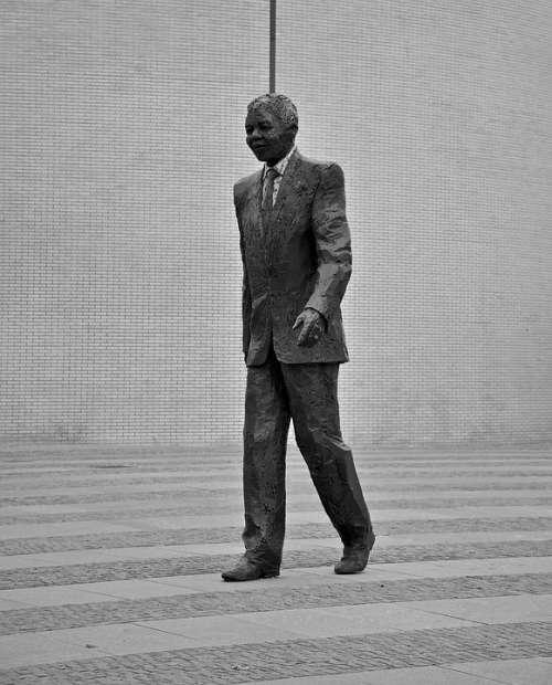 Nelson Mandela Statue Politics Johannesburg Freedom