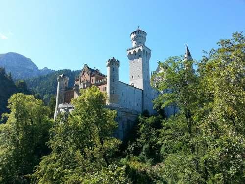 Neuschwanstein Castle Castle Neuschwanstein Germany