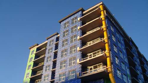 New Condo Building Construction Development