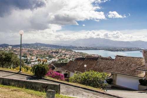 New Caledonia Tropical Homes Island Hill Top