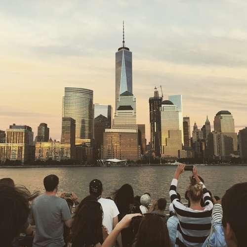 New York Skyline City Cityscape Buildings