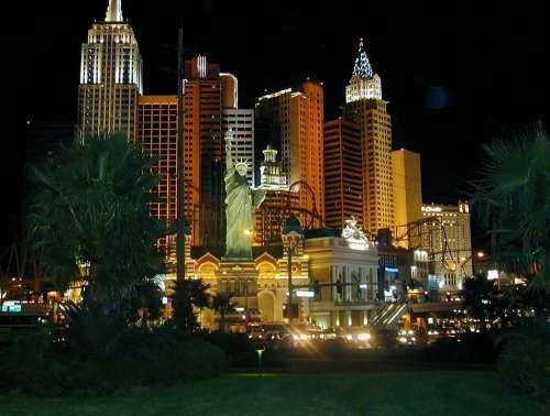 New York Las Vegas Casinos Hotel Architecture