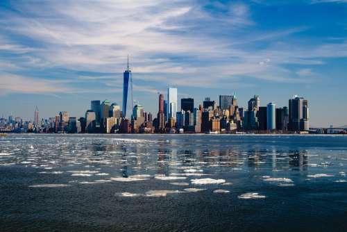 New York Skyline New York City City Manhattan
