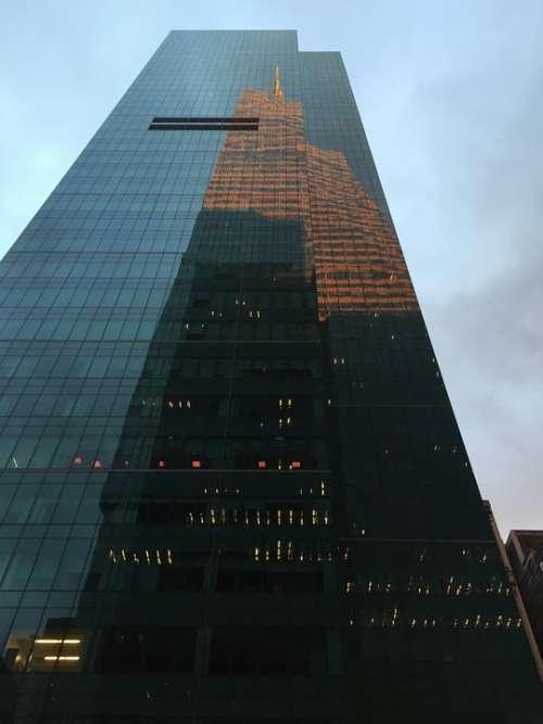 New York City Manhattan Urban Nyc Skyline
