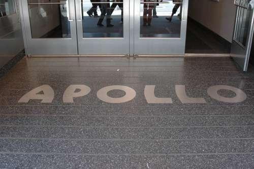 New York City Apollo Theater Floor Entrance Door