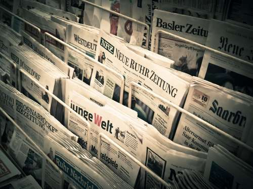 News Daily Newspaper Press Newspapers Information