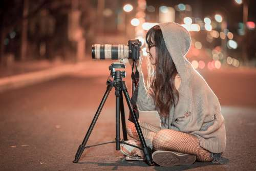 Night Camera Photographer Photo Picture Outdoors