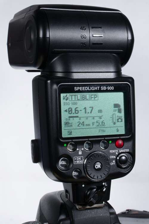 Nikon Camera Flash Photography Sb-900