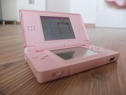 Nintendo Electronics Games Electronic Pink Device
