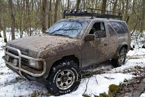 Nissan Terrano Off Road Mud Extreme Suv Dirt Car
