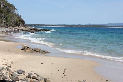 Noosa National Park Tea Tree Bay Bay Beach Ocean