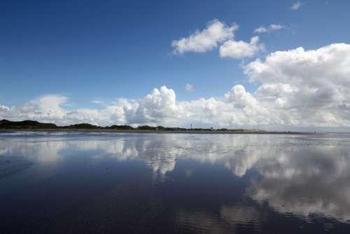 North Sea Nordfriesland Amrum Beach Sea Nature
