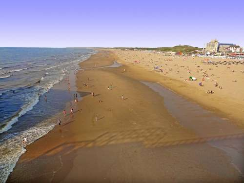 North Sea Coast Coast Water Beach Dunes