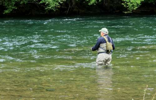 North Umpqua River Fly Fishing Oregon Summer Stream