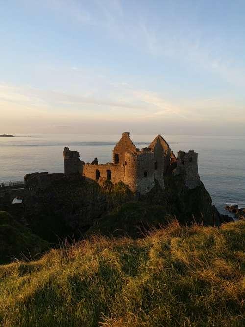 Northern Ireland Ireland Castle Nature Old