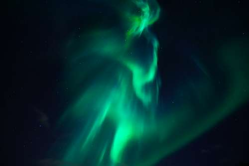 Northern Lights Aurora Light Phenomenon Shining