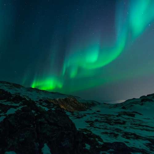 Northern Lights Aurora Borealis Northern Night Sky